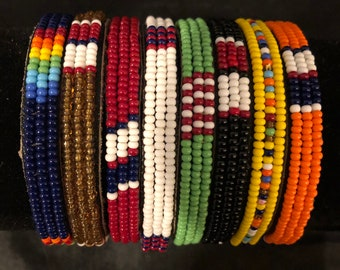valentines gift gift for her accessories Beaded bracelets Jewelries African bracelets Stone beads bracelets Masai bracelets