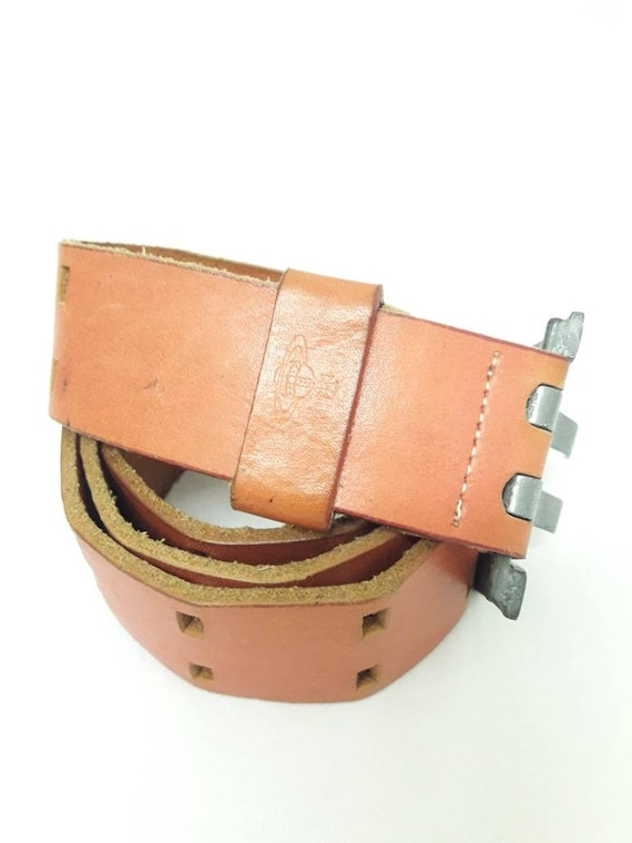 Vtg 90's Full Leather Vivienne Westwood Belt