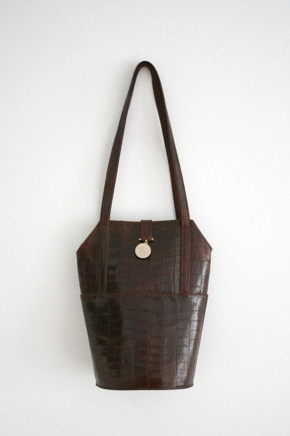 Baldinini 1990s Leather Handbag