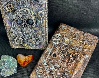 Journal/Book of Shadows/Spell Book/Notebook/Diary/Blank Journal/Dream Journal/Grimoire/Skull