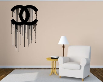 Removable and Reusable Fashion Girl Wall Decal Wall Fabric Vinyl Decal FahionGirlUScolor045ET