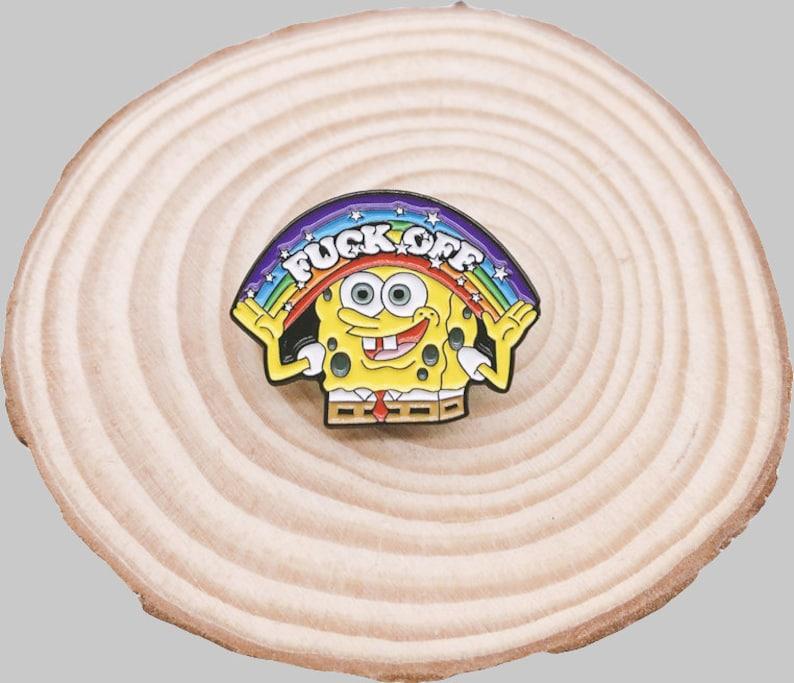 Spongebob Pin-Spongebob Enamel Pin-Sesame Street Favors-Anime Enamel Pin-Anime Pins-Anime Pin-Lapel Pin-Enamel Pin Set-Pins For Backpacks
