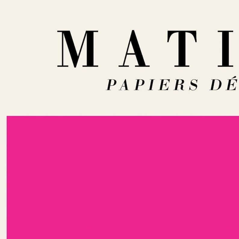 Matisse Cutout Print with Stars Papiers D\u00e9coup\u00e9s Modern Remake Matisse Exhibition Poster The Cut Outs Henri Matisse Print Abstract Art