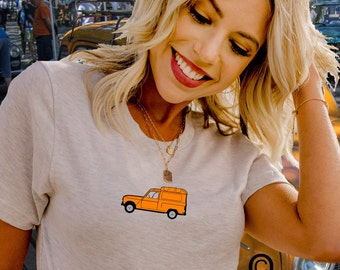 Renault 4 fourgonnette owners unisex T shirt in 20 colours. Classic car shirts. Sizes S-3XL. TG2150S