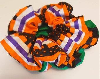 Ankara Scrunchies/Hair Accessories// Gift For Her// Ghana Kente Scrunchies