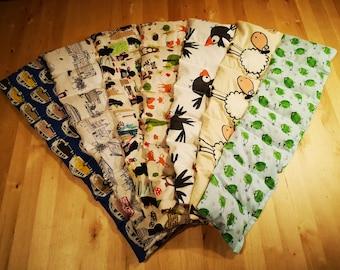 "Large XXL 7 Chamber Cherry Core Pillow Spelt Pillow Heat Pillow Grain Pillow XL 65 x 15 cm "" 9 Motifs "" Heat Therapy Tension for Mother's Day"