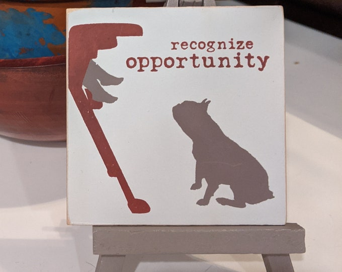 Mini Easel - Recognize Opportunity