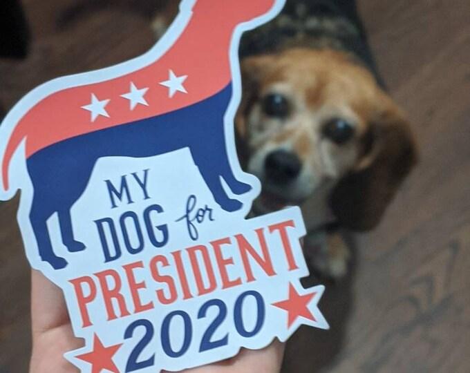 Car Magnet - My Dog