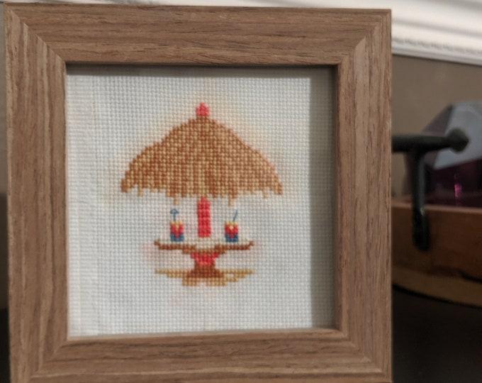 Tropical Tiki Cross Stitch