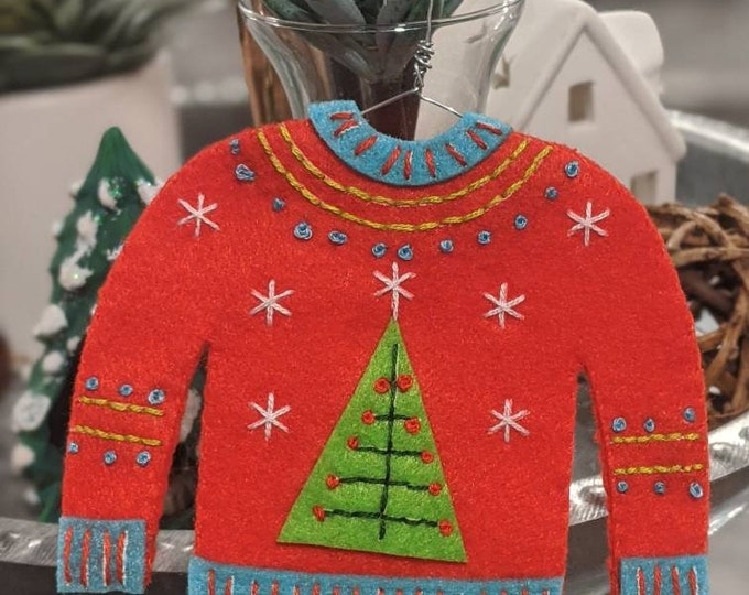 Ugly Christmas Sweater - Christmas Tree
