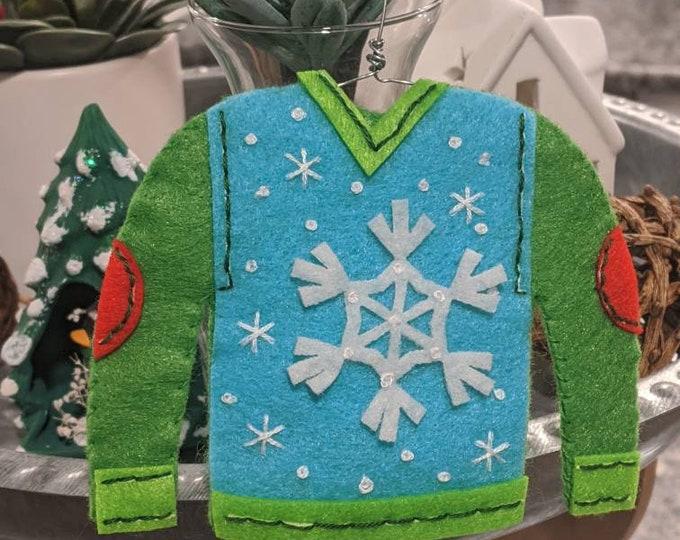 Ugly Christmas Sweater - Snowflake