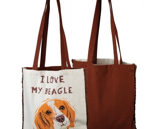 Tote - I Love My Beagle
