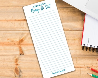 Set of 2 Honey Do List Personalized Notepads Custom Stationery Writing Set Reminders To Do Grocery List Magnet Husband Gift
