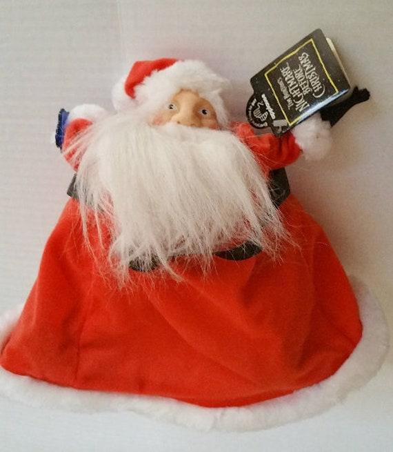 1994 Nightmare Before Christmas Santa Plush Toy New