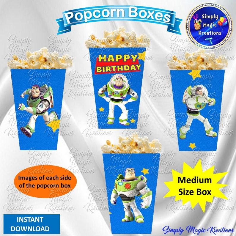 Toy Story Popcorn Box