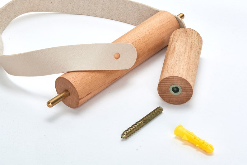 Wooden Toilet Tissue Holder