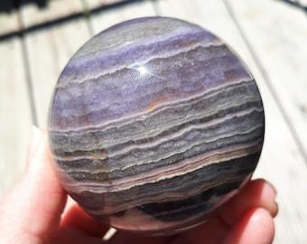 Silky Velvet Fluorite Sphere 38mm