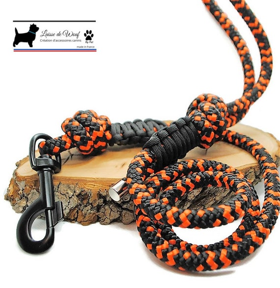 Leash of wouf - Hallo leash in paracord 10mm