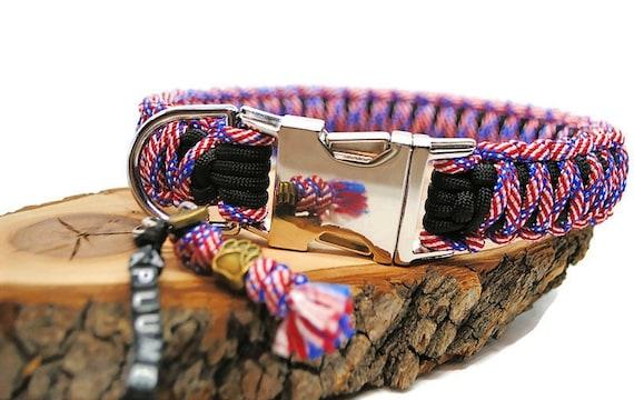 Star dog collar - width 3cm - Wouf leash