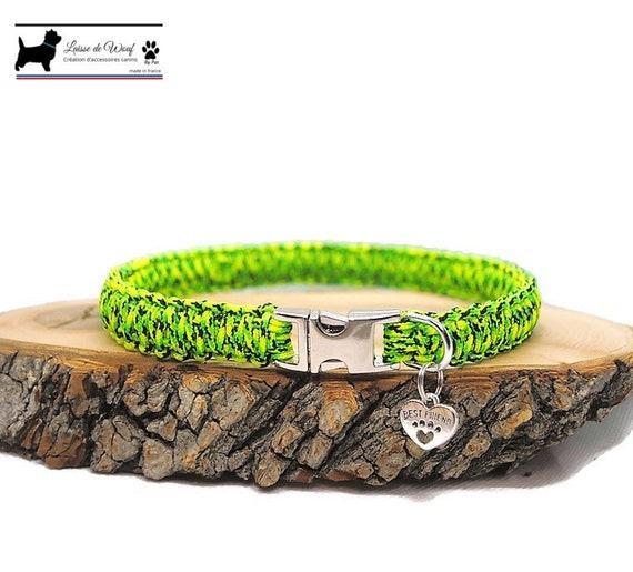 Gecko dog collar - width 1.5cm - Wouf leash