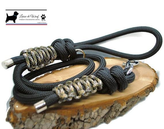 Wouf leash - Savannah leash in paracord 10mm