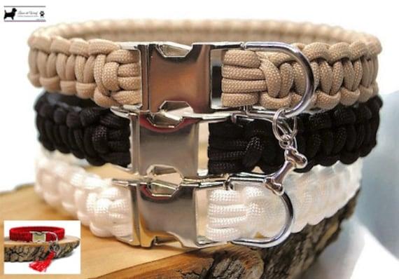 Plain dog collar - width 2cm - Wouf leash