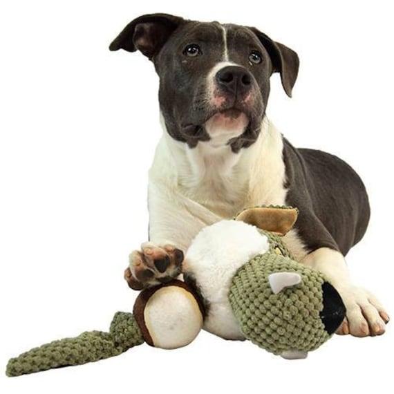 Peluche pour chien Loup avec Balle