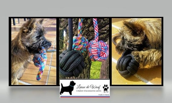 Dog toy rope floating ball | Wouf leash