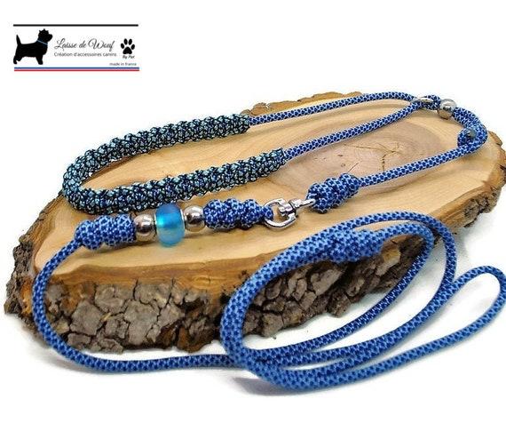 Blue Diamond Dog Exhibition Leash