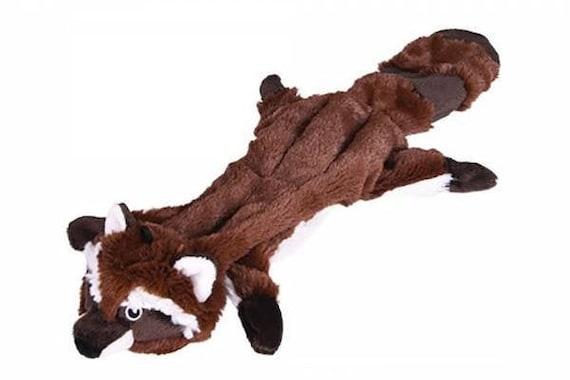 Plush for dog, Raccoon flat 45cm