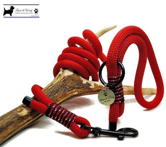 Wouf leash - Petit Diablotin leash in paracord 10mm