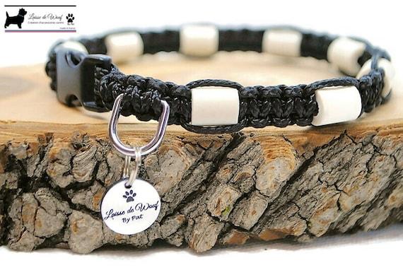 EM 10 plain colour anti-tick collar for ceramic dog