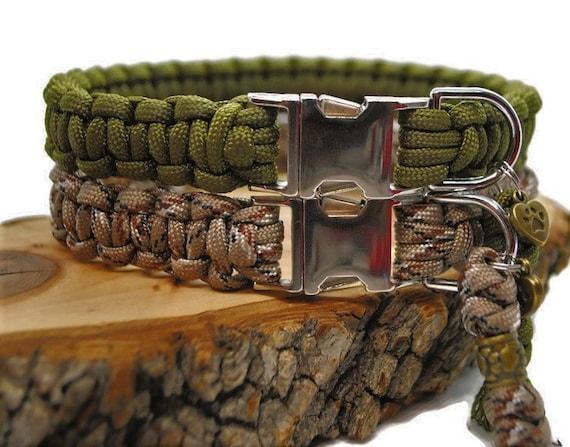 Camouflage dog collar - width 2cm - Wouf leash