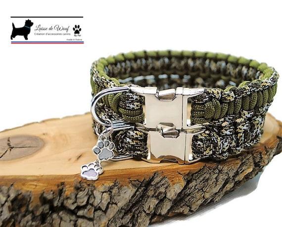 Savannah dog collar - width 2cm - Wouf leash