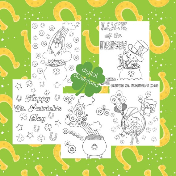 St Patricks Day Kids Coloring Pages