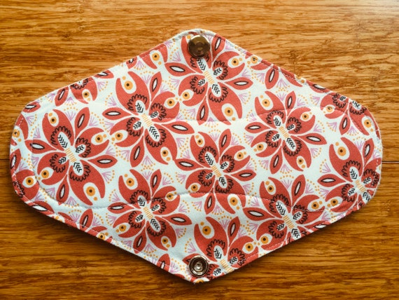 due to minor IMPERFECTIONS Soft /& natural cloth pad made of 100/% cotton material DISCOUNTED* Regular Bloom pad metal snaps.