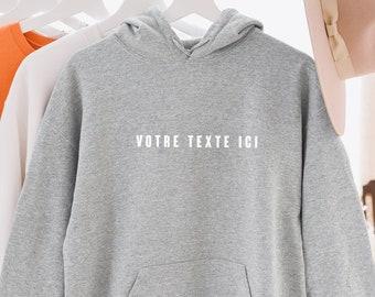 Personnalisé Imprimé Brodé Sweat-shirt Unisexe Personnalisé Stag Workwear
