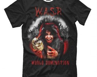 CRIMSON IDOL Mens Black Rock T-shirt NEW Sizes S-XXXL W.A.S.P