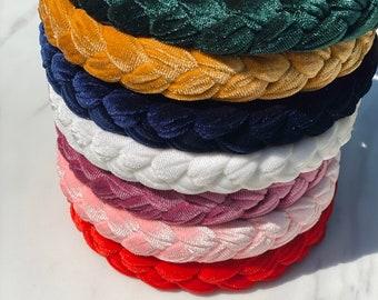 Braided Velvet Headbands | Gift Ideas