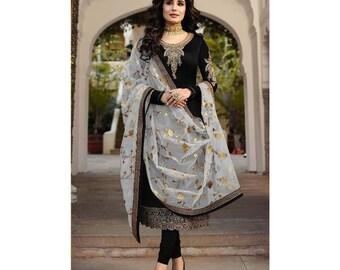 Designer Inspired Pakistani Indian Kids Girls Eid Party Shalwar Kameez size 26