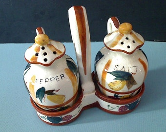 Nasco Anthropomorphic Mouse Mom with Baby Salt and Pepper Shakers made in Japan circa 1950s