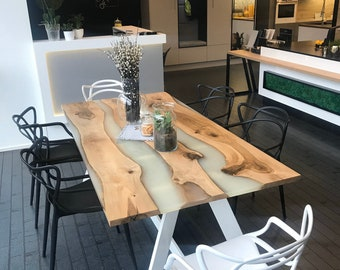 Epoxy Table Etsy