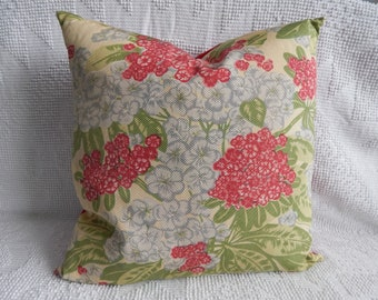 Leaves at Waverly Pond Throw Pillow for