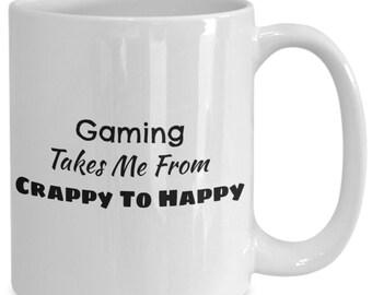 Gaming coffee mug, coffee mug for gamers and people who love gaming