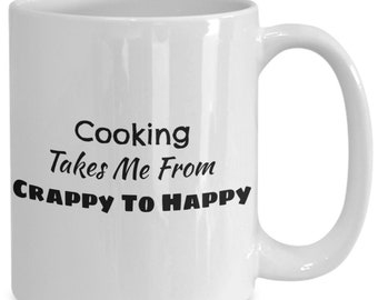Cooking coffee mug for cooks and chefs