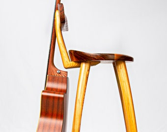Terrific Guitar Stool Stand Etsy Ocoug Best Dining Table And Chair Ideas Images Ocougorg