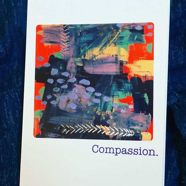 4x6 COMPASSION Postcard