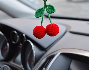 Car rear view mirror charm LEOPARD Head Christmas ornament Men/'s gifts
