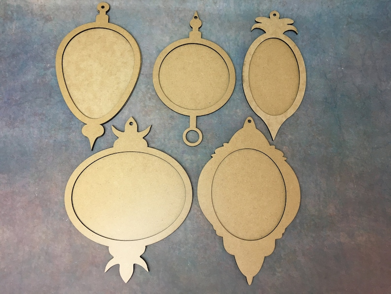 Wall Decorations Plaque Blank MDF Shapes Paint Decoupage image 0