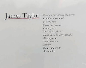 NEW* James Taylor - Greatest Hits / Vinyl LP Compilation /*Original 1976 Warner Bros Release/*Factory-Sealed / Gatefold / Photo Inner Sleeve